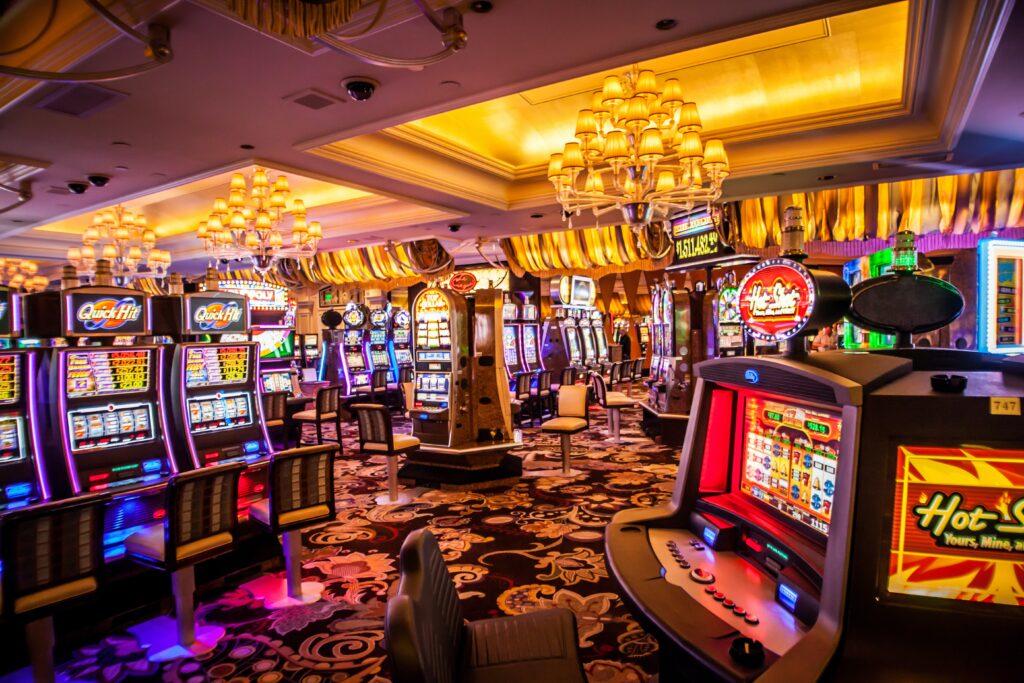 Christopher Heap - Risk Manager - Victoria Gate Casino Slot Machine